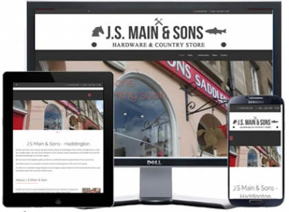 east lothian hardware store built with joomla