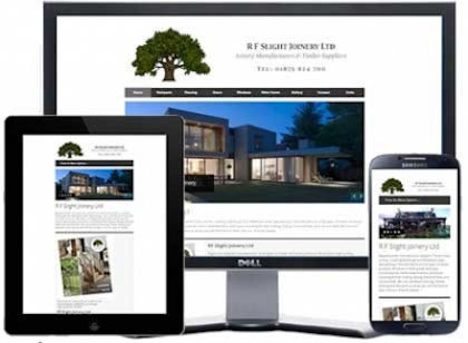 rf slight east lothian joiner html web design