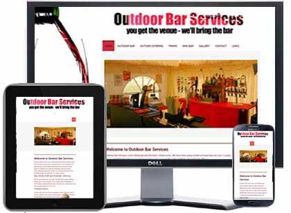 outdoor bar services