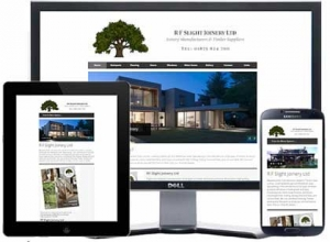 responsive html site for east lothian builder